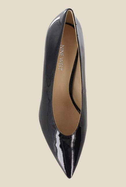 Nine West Black Block Heeled Pumps