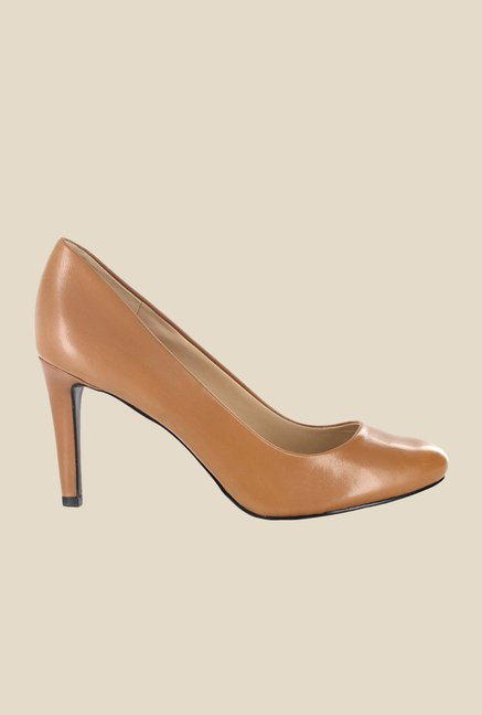 Nine West Nude Stiletto Heeled Pumps