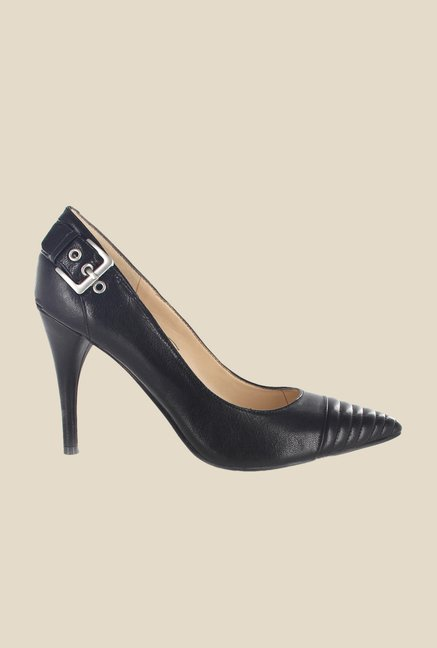 Nine West Black Stiletto Heeled Pumps