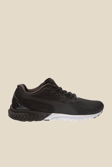 Puma Ignite Dual Nightcat Black Running Shoes