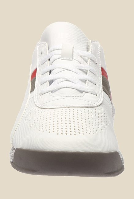 Puma Ferrari Podio SF White & Smoked Pearl Sneakers