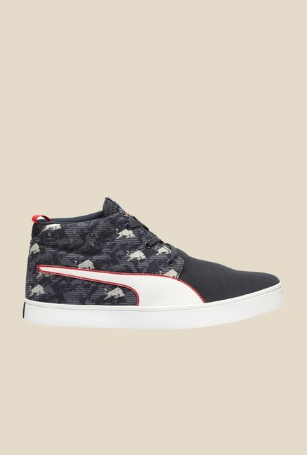 Puma Red Bull RBR Desert Vulc SBE Total Eclipse Sneakers