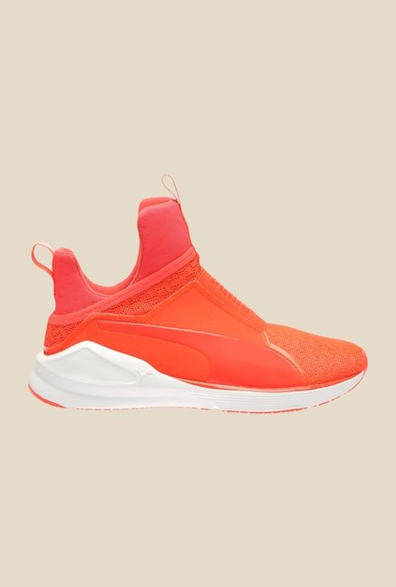 Puma Fierce Eng Red Blast & White Training Shoes