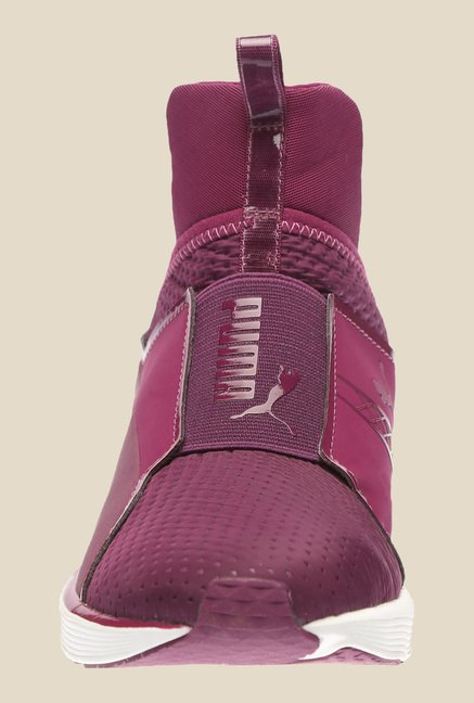 Puma Fierce Quilted H2T Magenta Purple Training Shoes