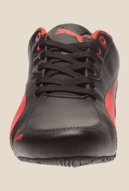 Puma Drift Cat 5 SF Resec H2T Black & Rosso Corsa Sneakers