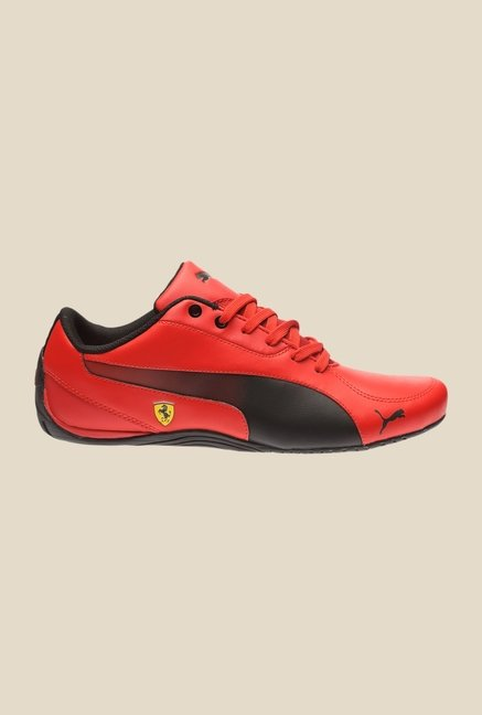 Puma Drift Cat 5 SF Resec H2T Rosso Corsa & Black Sneakers