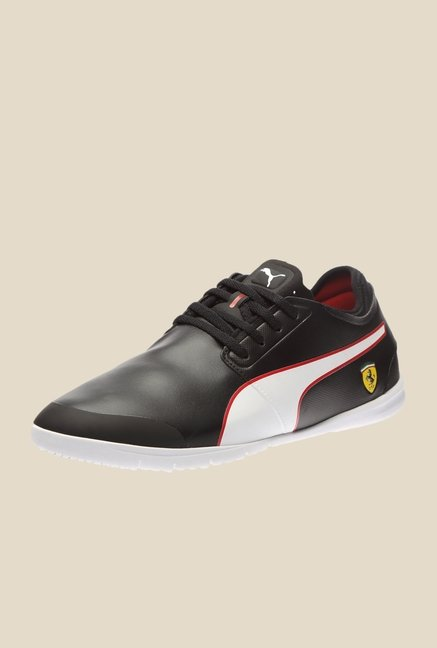 Puma Ferrari Changer Ignite SF L H2T Black & White Sneakers