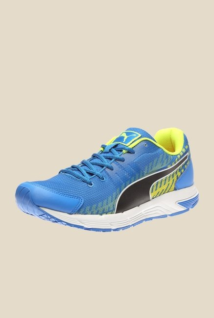 a437f69bbc Buy Puma Sequence V2 IDP H2T Electric Blue Running Shoes Online at best  price at TataCLiQ