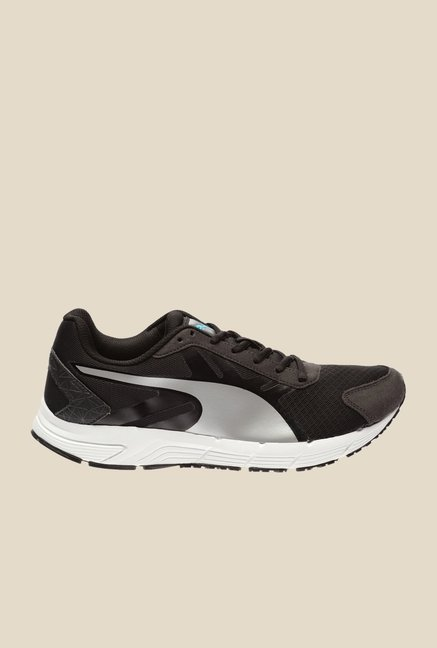 Puma Sequence V2 IDP H2T Black & Silver Running Shoes