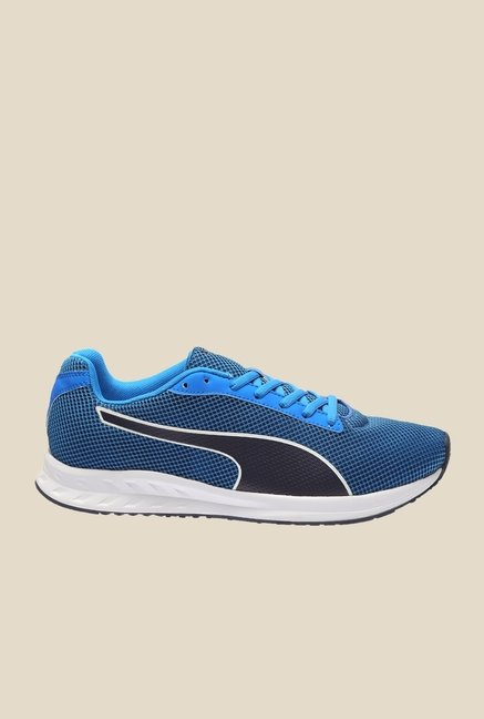 Puma Burst H2T Electric Blue & Peacoat Running Shoes