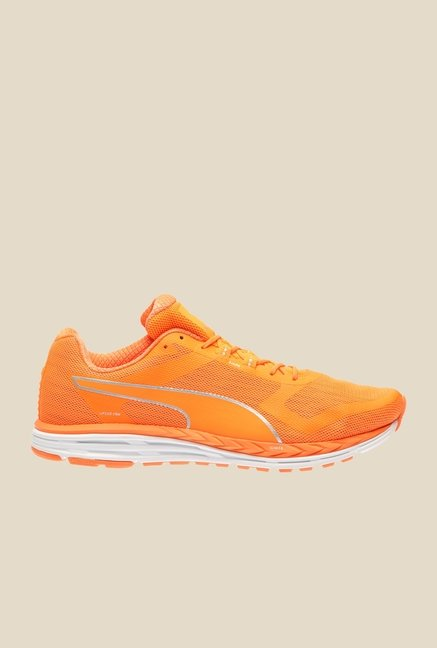 Puma Speed 500 Ignite Nightcat Shocking Orange Running Shoes