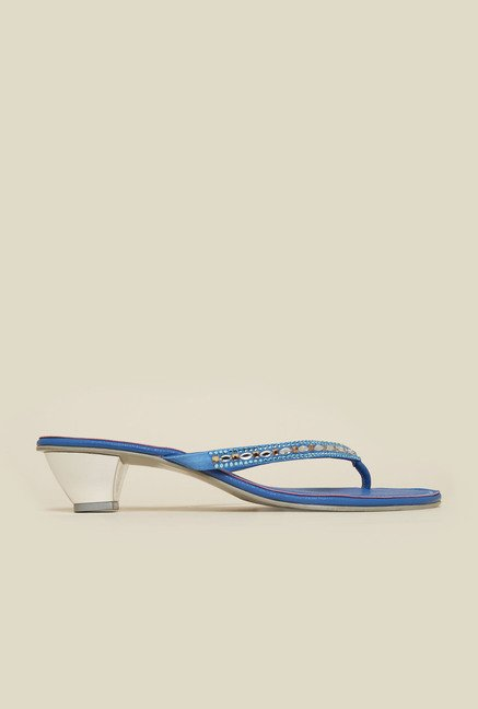 Metro Blue Toe Ring Cone Sandal