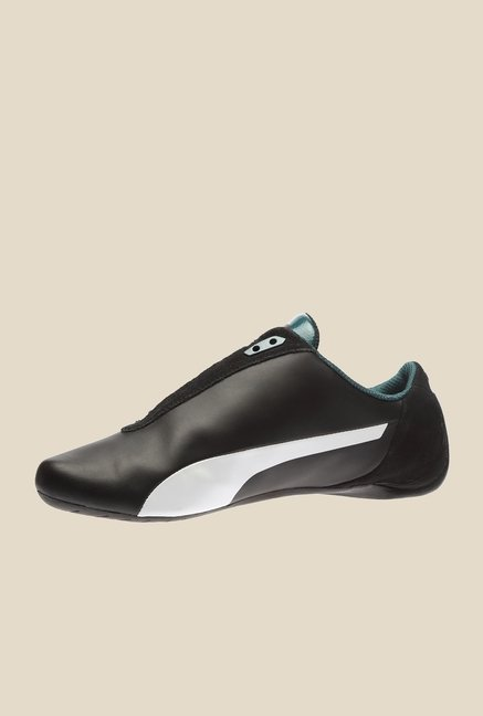 Puma Mercedes MAMGP Future Cat S2 Black & White Sneakers