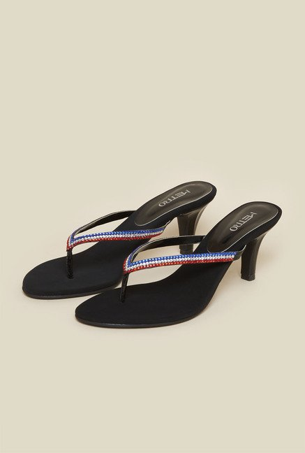 Metro Multicolor Thong Sandals