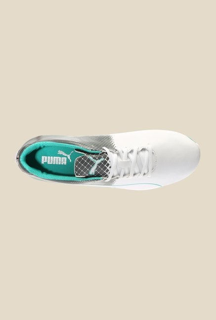 Puma Mercedes MAMGP EvoSpeed White & Dark Shadow Sneakers