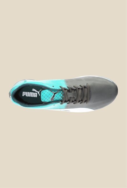 Puma Mercedes MAMGP EvoSpeed Dark Grey & Spectra Sneakers