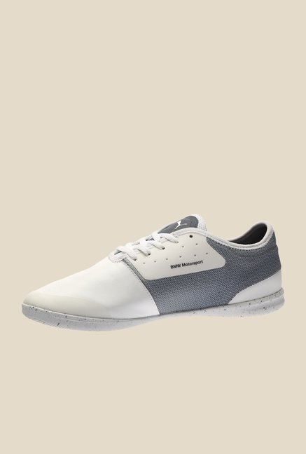 Puma BMW MS Changer Ignite H2T White & Grey Sneakers