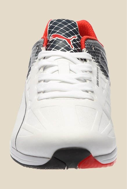 Puma BMW MS EvoSpeed White & Black Sneakers