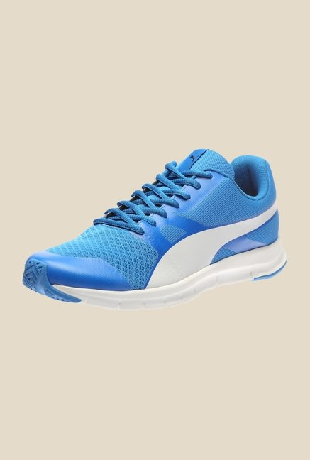 Puma Flexracer IDP H2T Electric Blue & White Running Shoes