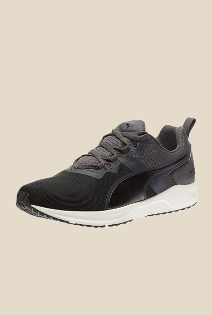 751f5a73b11 Buy Puma Ignite XT V2 Black   Asphalt Training Shoes Online at best price  at TataCLiQ