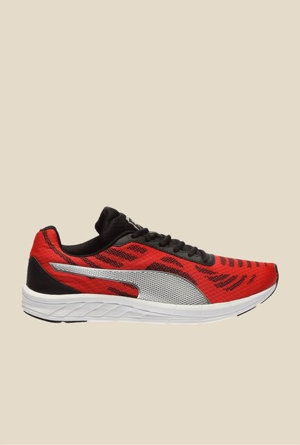 Puma Meteor High Risk Red & Black Running Shoes