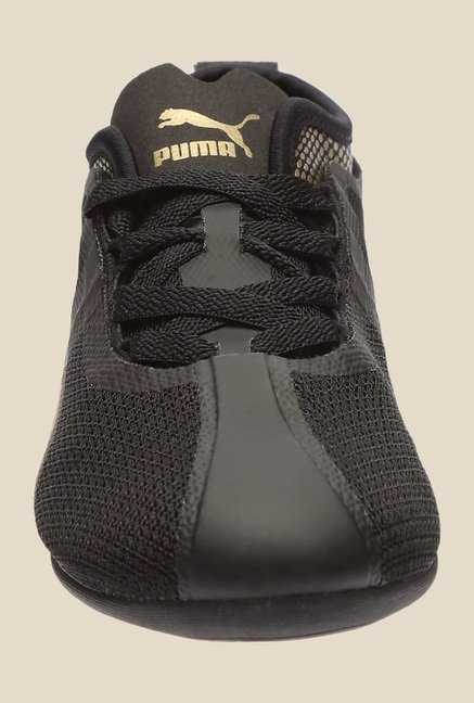 Puma Eskiva Low Evo Black & Gold Casual Shoes