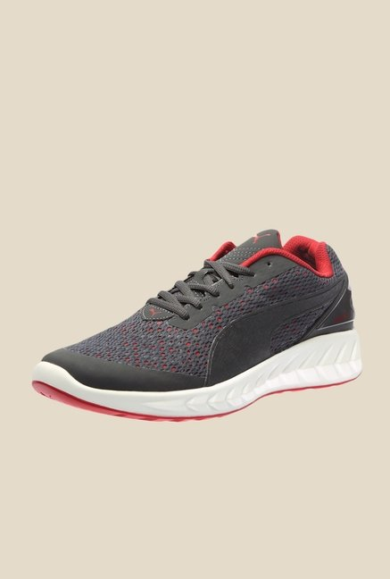 Puma Ignite Ultimate Layered Asphalt & Cherry Running Shoes