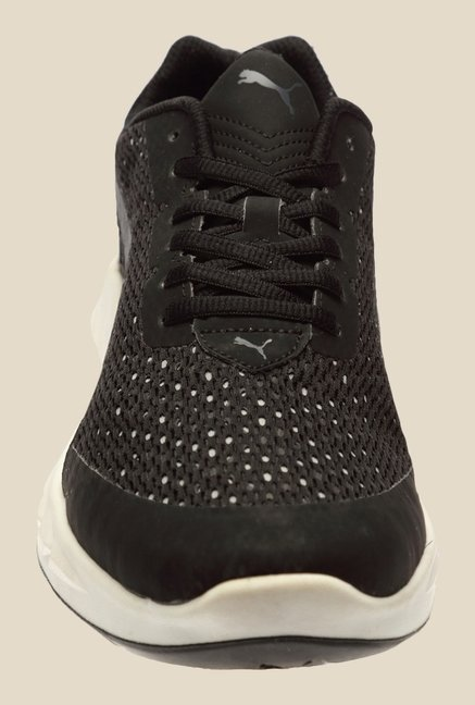 Puma Ignite Ultimate Layered Black & Quarry Running Shoes