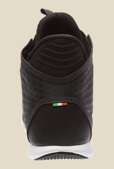 Puma Ferrari SF Black Ankle High Sneakers
