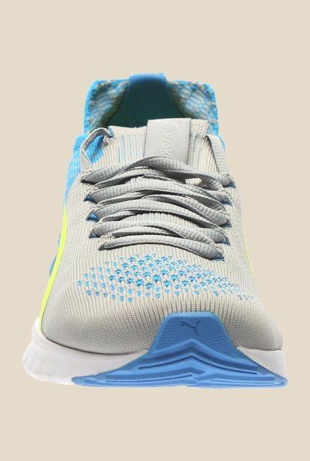 Puma Ignite Dual Proknit Quarry & Blue Running Shoes