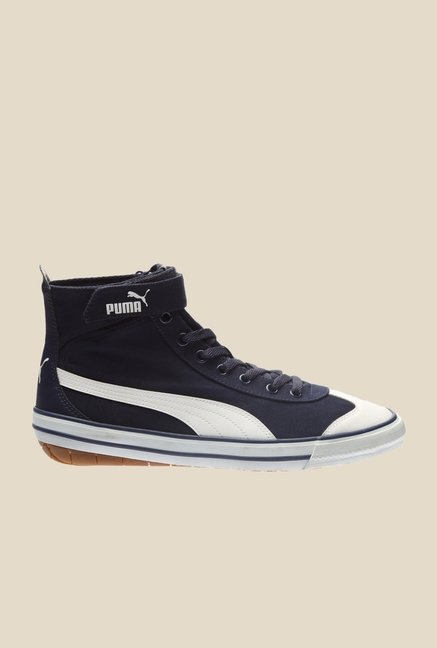 Puma 917 Mid DP Peacoat & White Sneakers