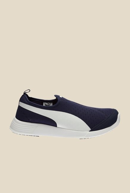 Puma ST Trainer Evo Peacoat & White Sneakers
