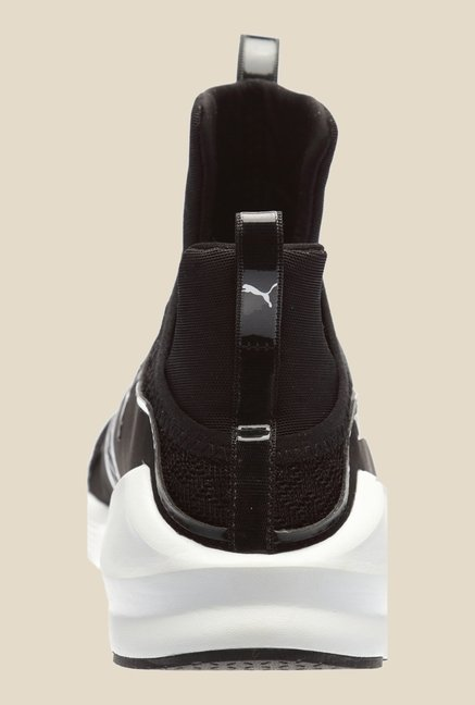 Puma Duplex Evo Black & White Sneakers