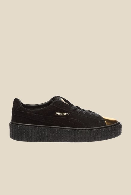 Puma Creepers Fif Black & Golden Sneakers