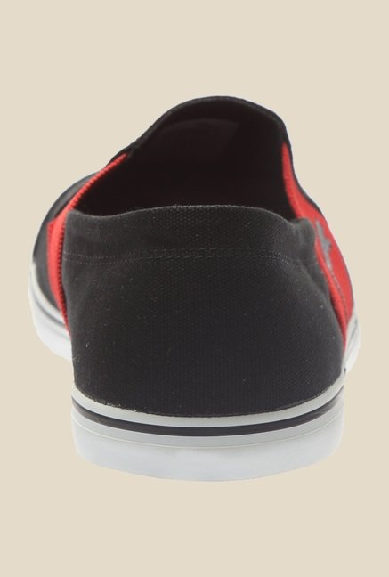 Puma Elsu V2 DP Black & Red Plimsolls