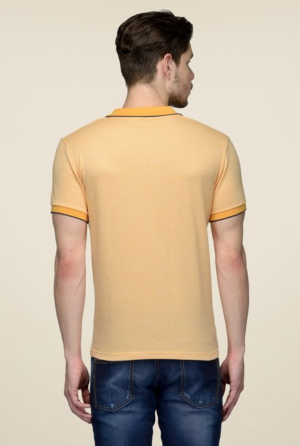 United Colors of Benetton Orange Polo T-shirt