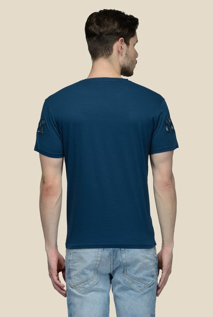 United Colors of Benetton Navy Crew Neck T-shirt
