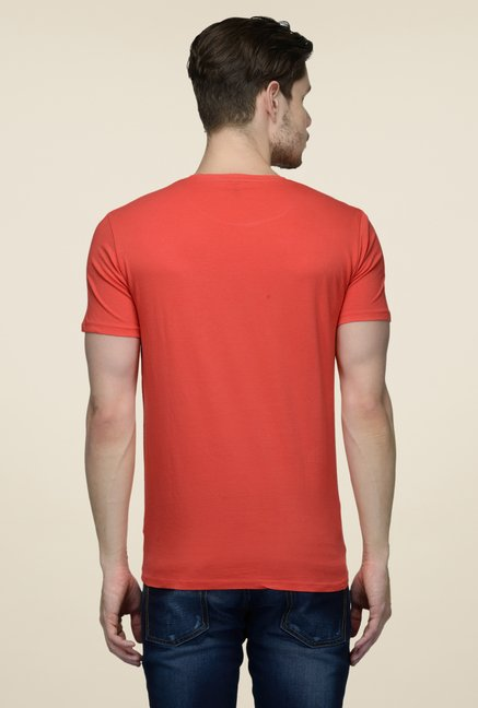 United Colors of Benetton Coral Crew Neck T-shirt