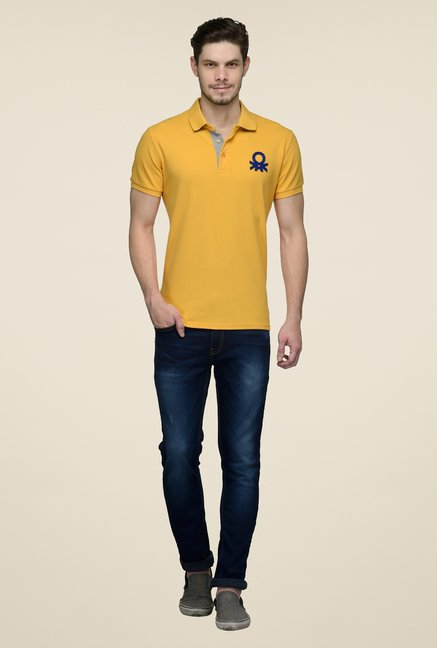 United Colors of Benetton Marigold Polo T-shirt