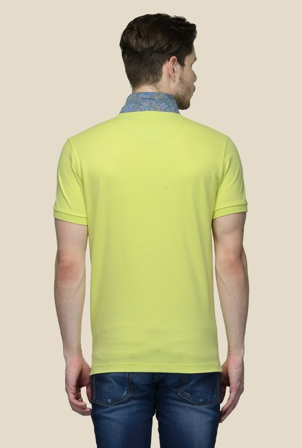 United Colors of Benetton Lime Polo T-shirt