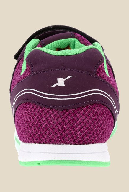 Sparx Mauve & Green Running Shoes