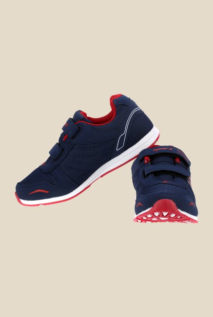 Sparx Navy & Red Running Shoes