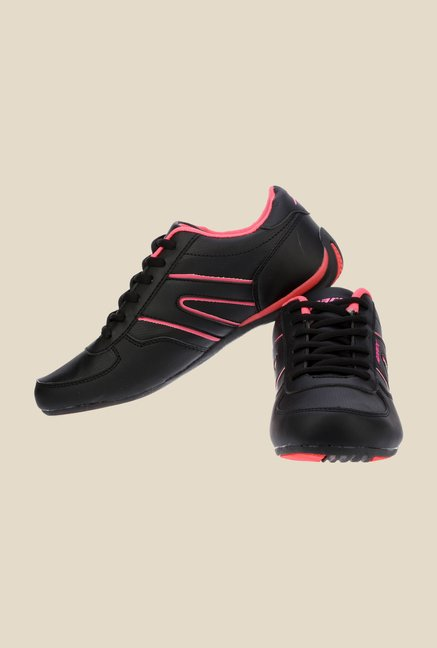 Sparx Black & Pink Running Shoes