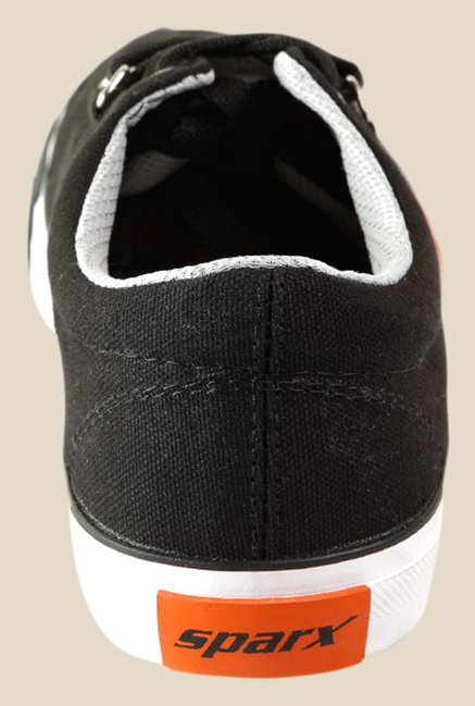 Sparx Black & White Sneakers