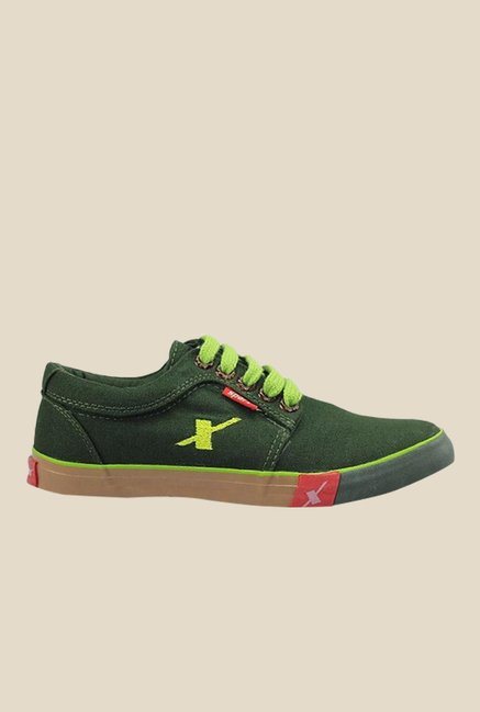 Sparx Olive Green Sneakers