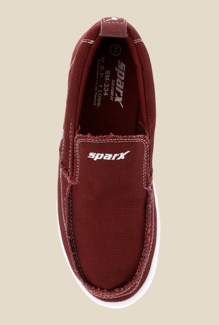Sparx Cherry Casual Slip-Ons