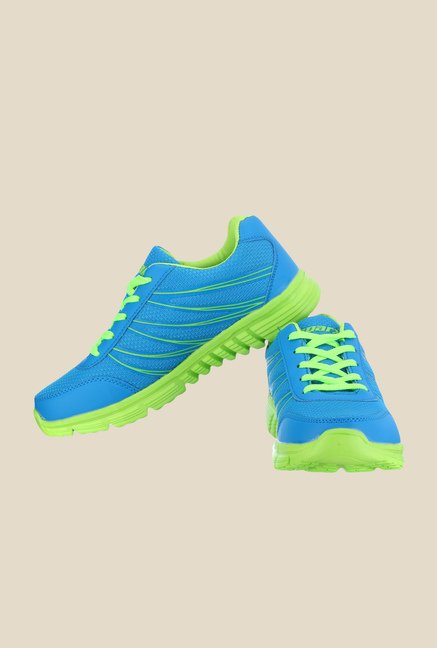 Sparx Sea Blue & Green Running Shoes