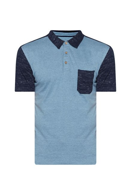 Westsport by Westside Blue Polo T Shirt