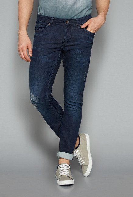 Nuon by Westside Indigo Slim Fit Hendrix Jeans