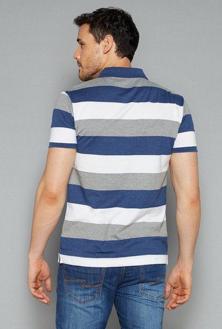 Westsport by Westside Multicolor Polo T Shirt
